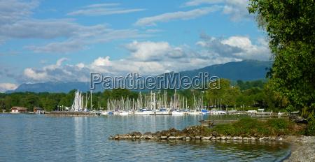 alps switzerland harbor france harbours sailing