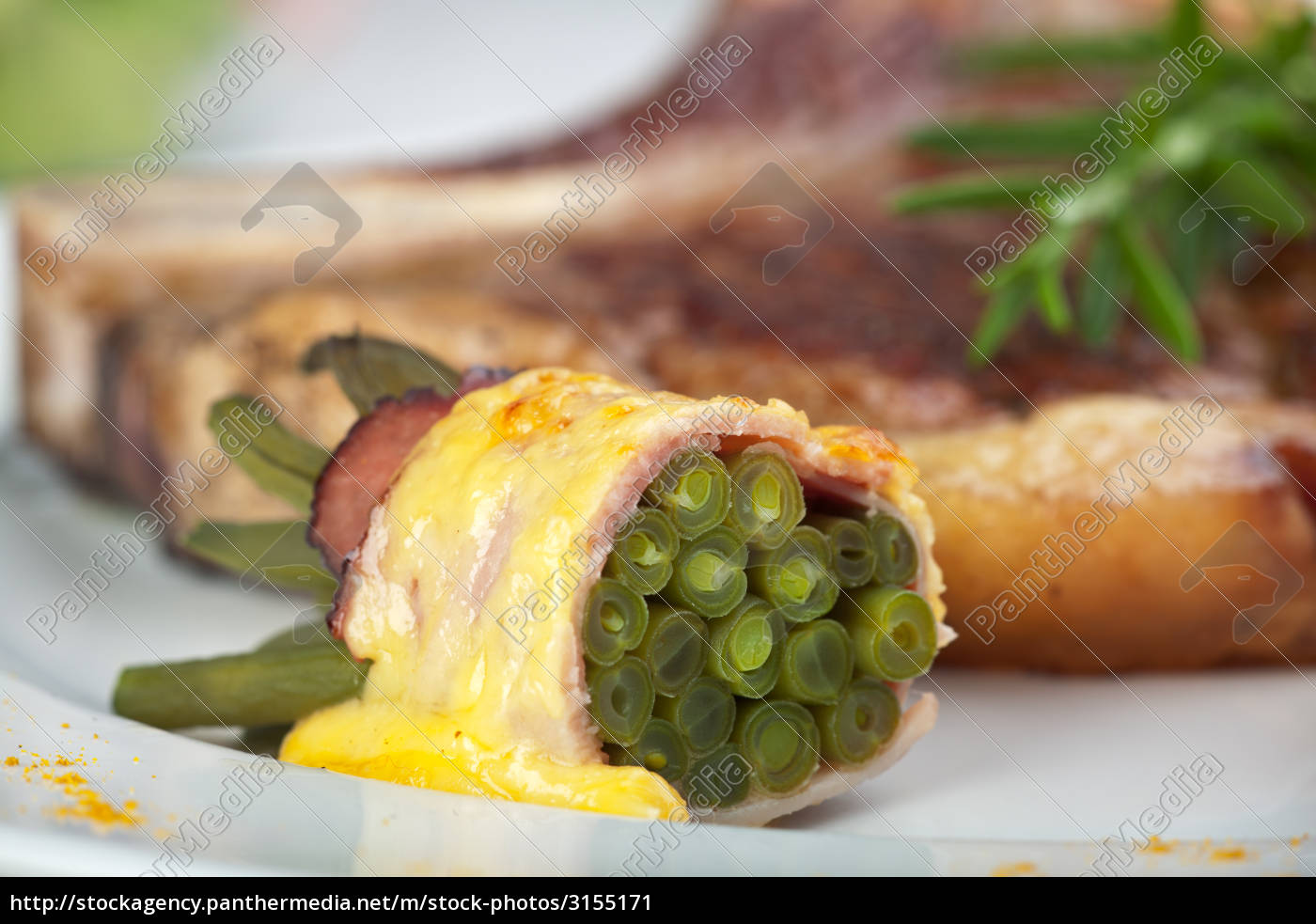 grill, halved, green, beans - 3155171