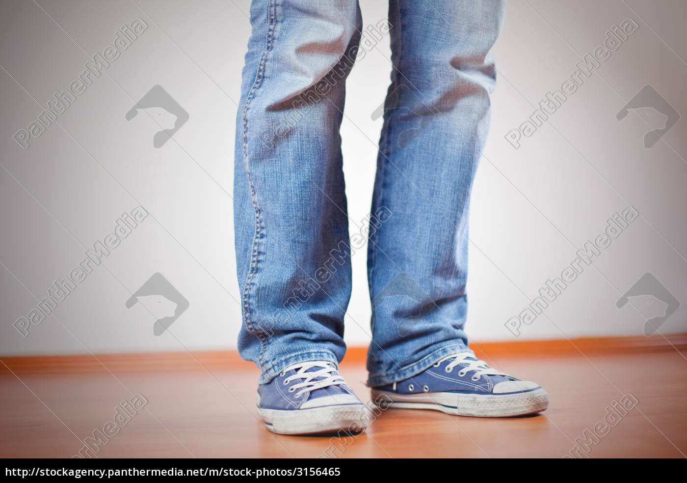 human, foot, with, jeans, and, sneakers - 3156465