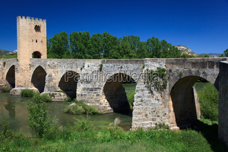 bridge, of, frias, , burgos, , spain - 3158467