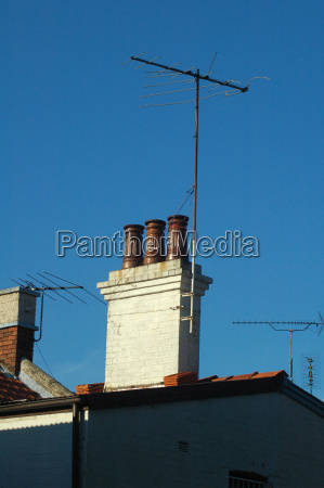 antenna and chimney