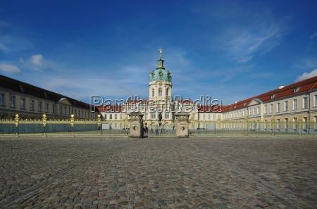 charlottenburg palace in dersonne