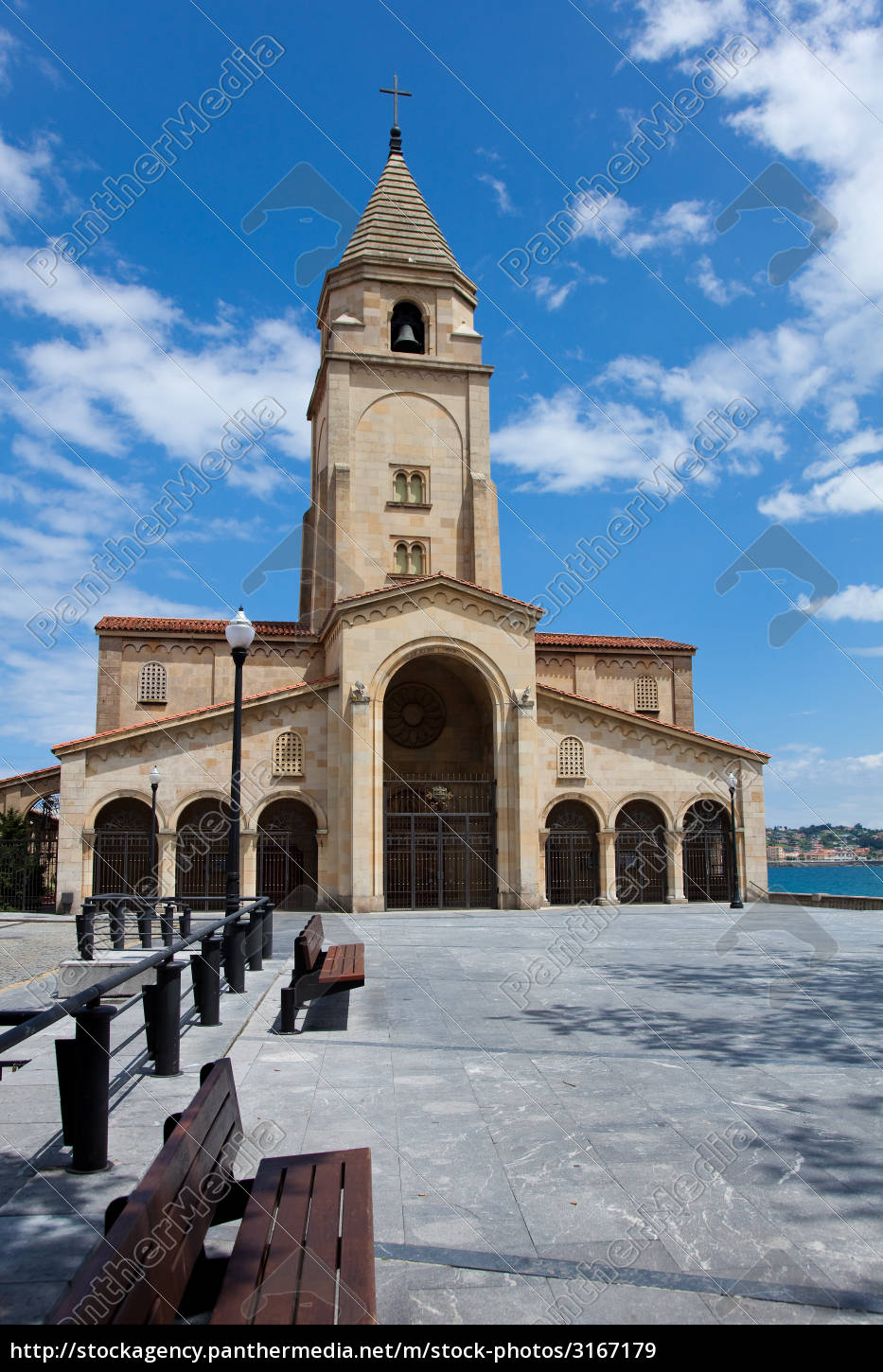 church, of, santa, catalina, , gijon, , spain - 3167179