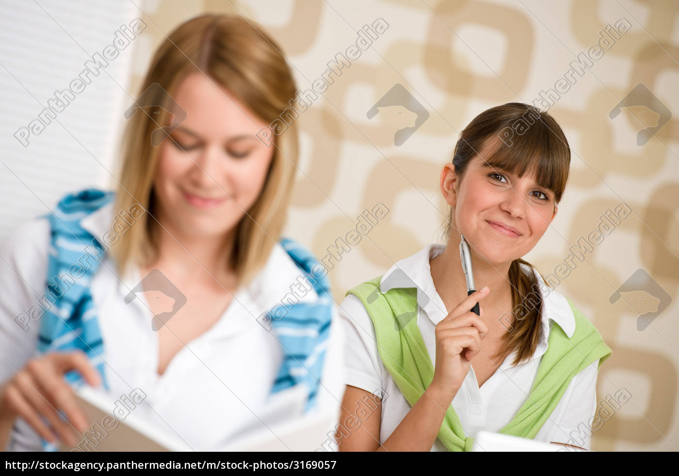 student, at, home, -, two, woman - 3169057