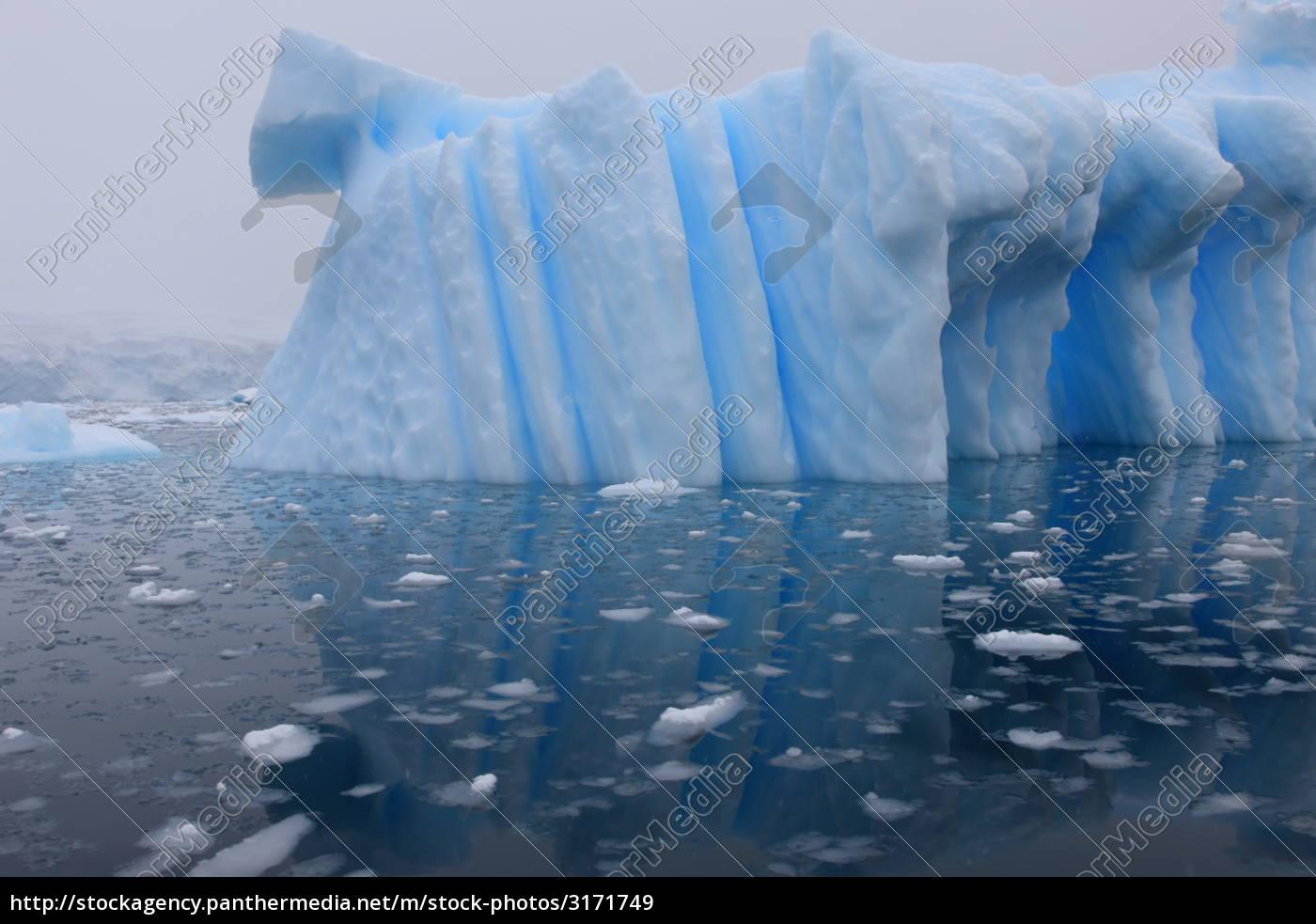 iceberg, and, azure, water - 3171749