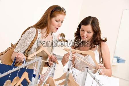 fashion, shopping, -, two, happy, woman - 3172241