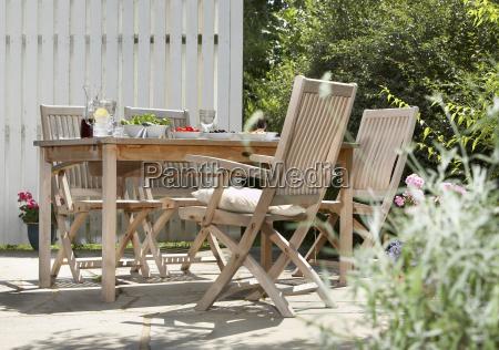 teak, seating, group - 3174509