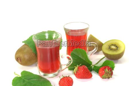 strawberry kiwi tea