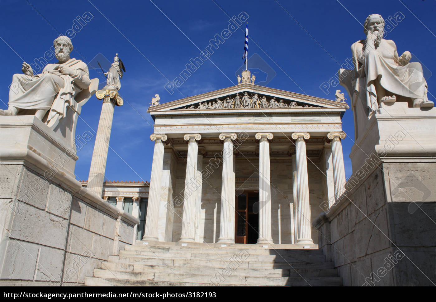academy, of, athens, , greece - 3182193