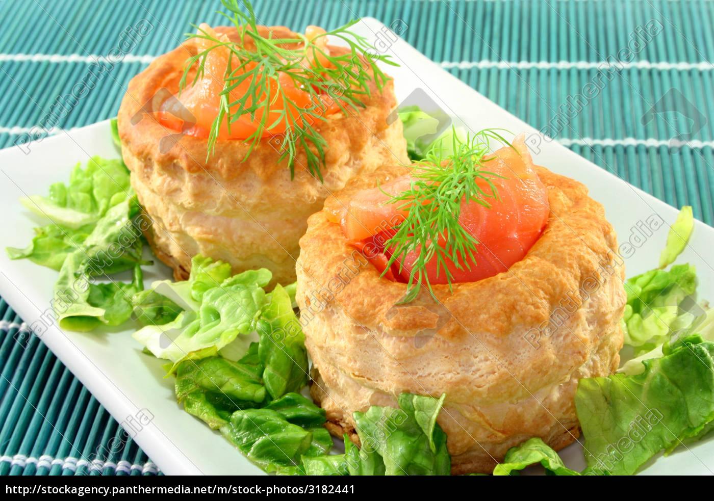 salmon, pie - 3182441