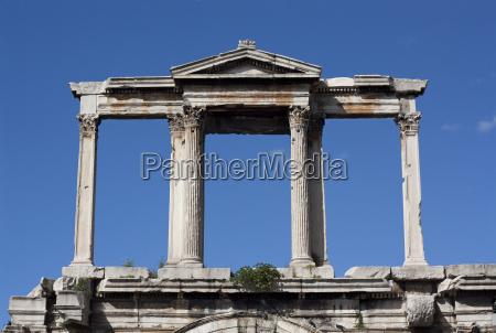 hadrians, arch, , athens, (greece) - 3184877
