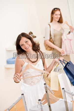 fashion, shopping, -, two, happy, woman - 3186623