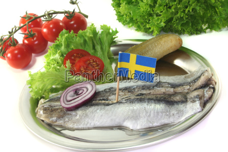 sweden cucumber onion herring swedish tomato