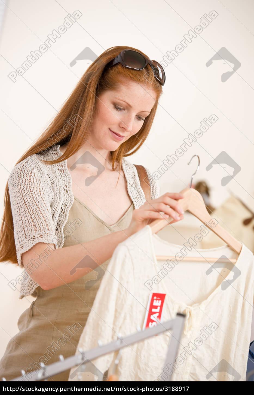 fashion, shopping, -, red, hair, woman - 3188917