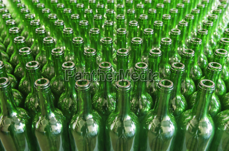 green, glass, wine, bottles - 3197717