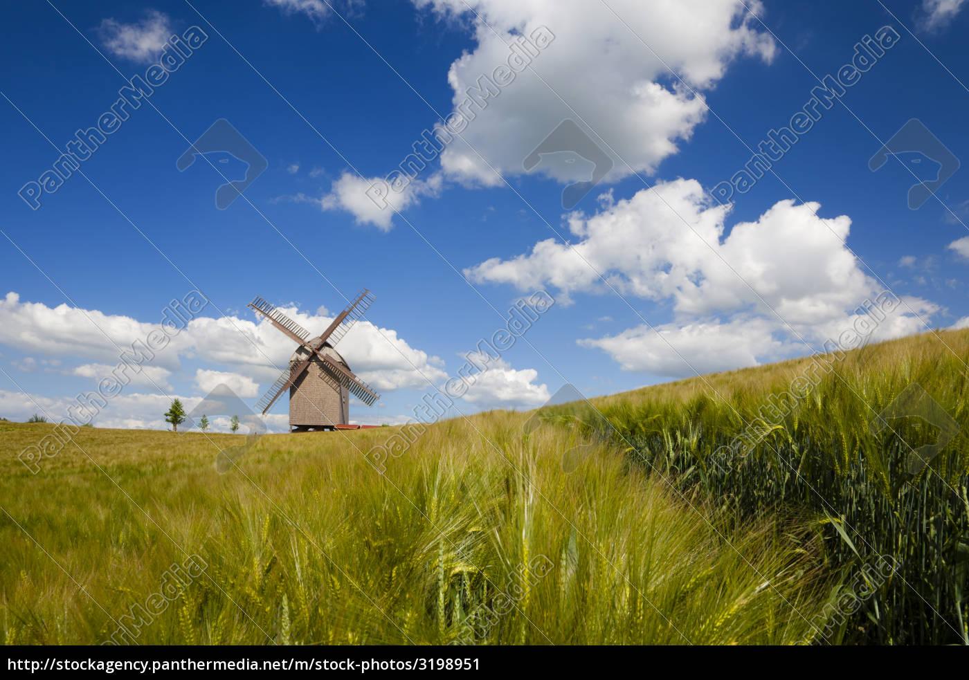 windmill, in, brandenburg - 3198951