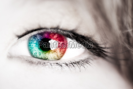 eye color spectrum