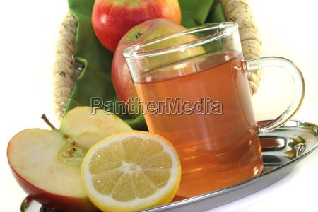apple lemon tea