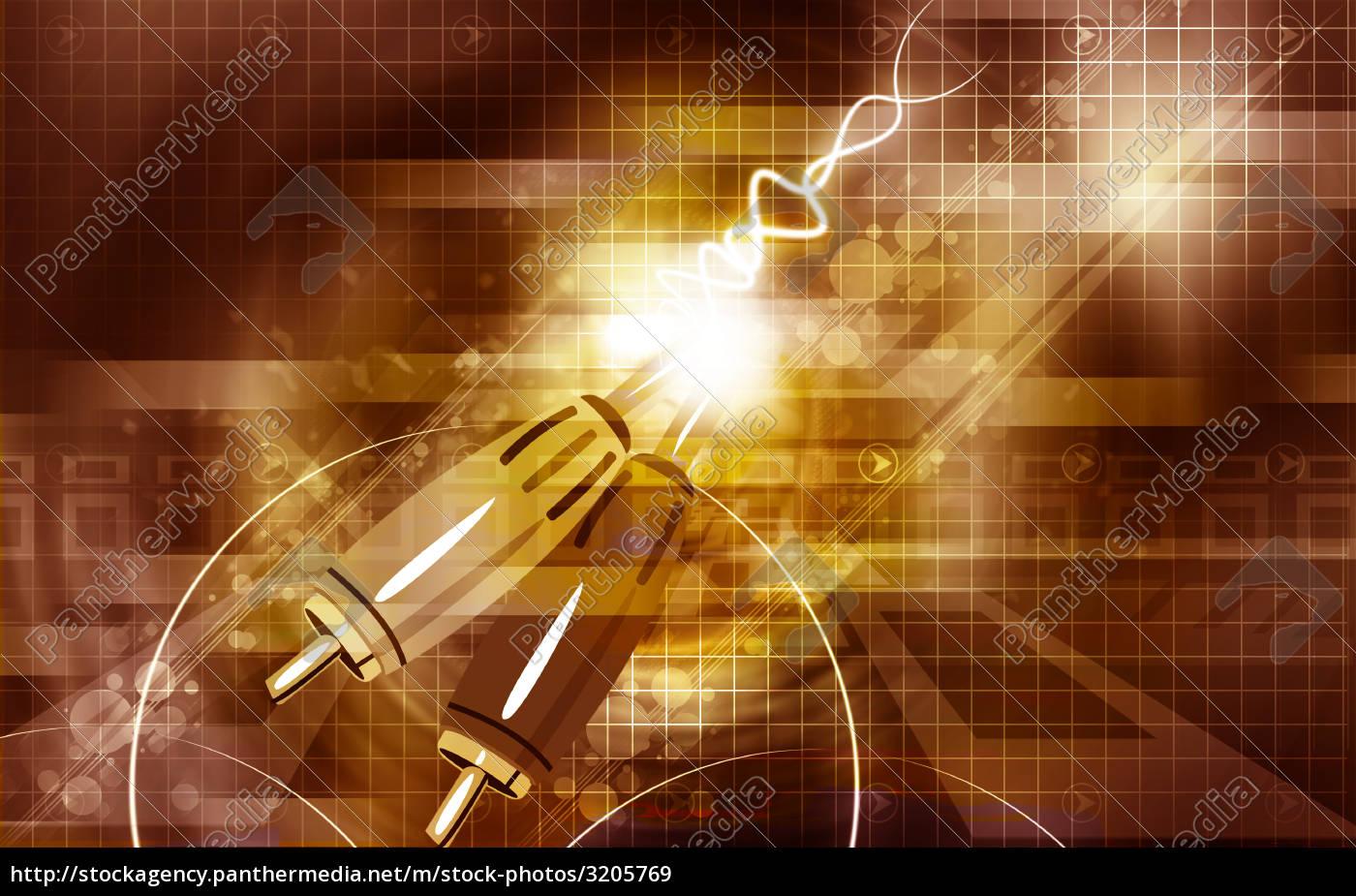 illustration, of, data, cord, - 3205769