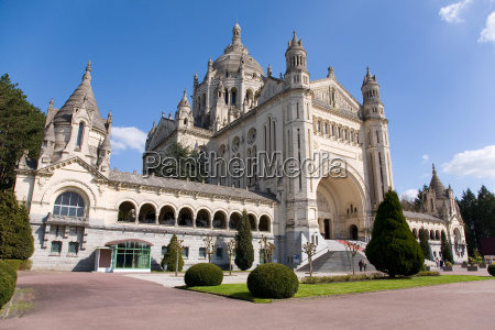 basilica, of, lisieux, (normandy, , france) - 3206405