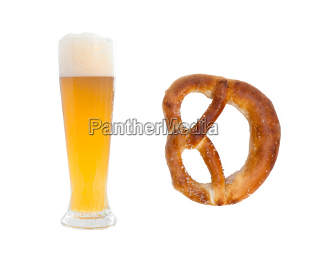 hefeweizen, and, pretzel - 3210979