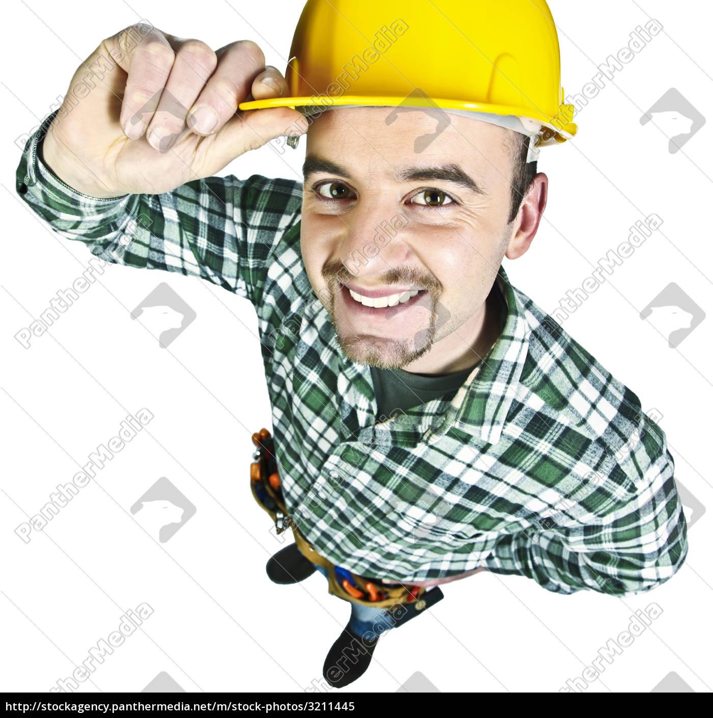 happy, funny, handyman - 3211445
