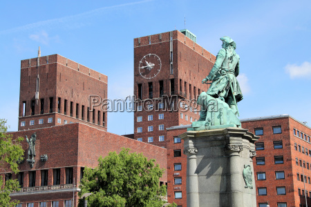 oslo, city, hall - 3213673