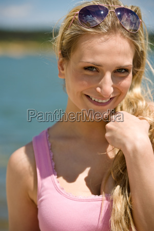 blond, woman, enjoy, summer, sun - 3217395