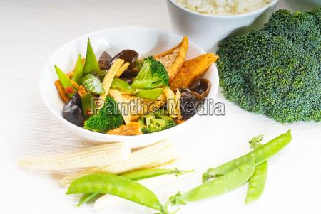 tofu, beancurd, and, vegetables - 3221777