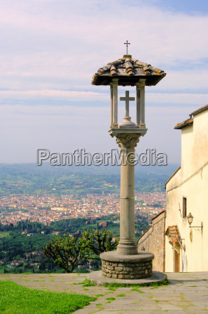 fiesole, overlooking, florence, -, fiesole, view - 3224201