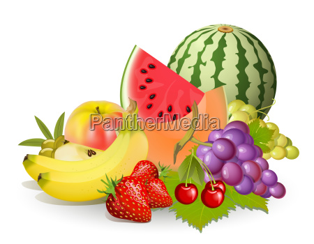 groups of fruits