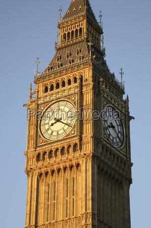 big ben clock and tower london