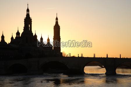 pilar, cathedral, , zaragoza, , spain - 3235591