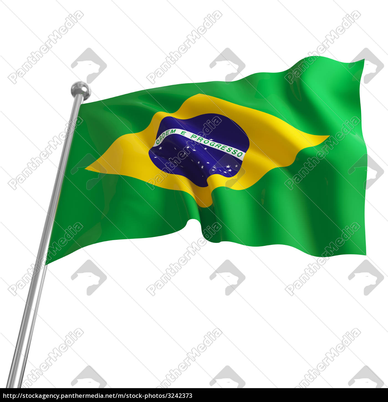 america, flag, brazil, brazilian, 3d - 3242373