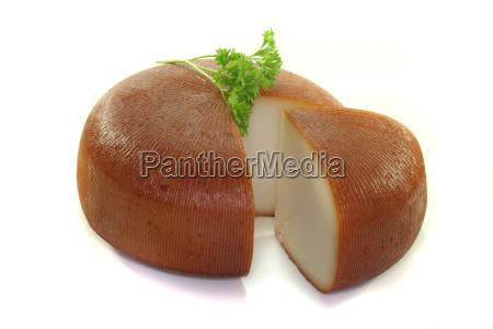 smoked goat cheese