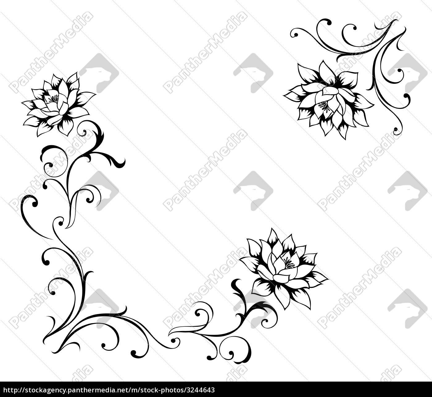 lotus, flower, pattern - 3244643