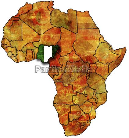 old flag of nigeria