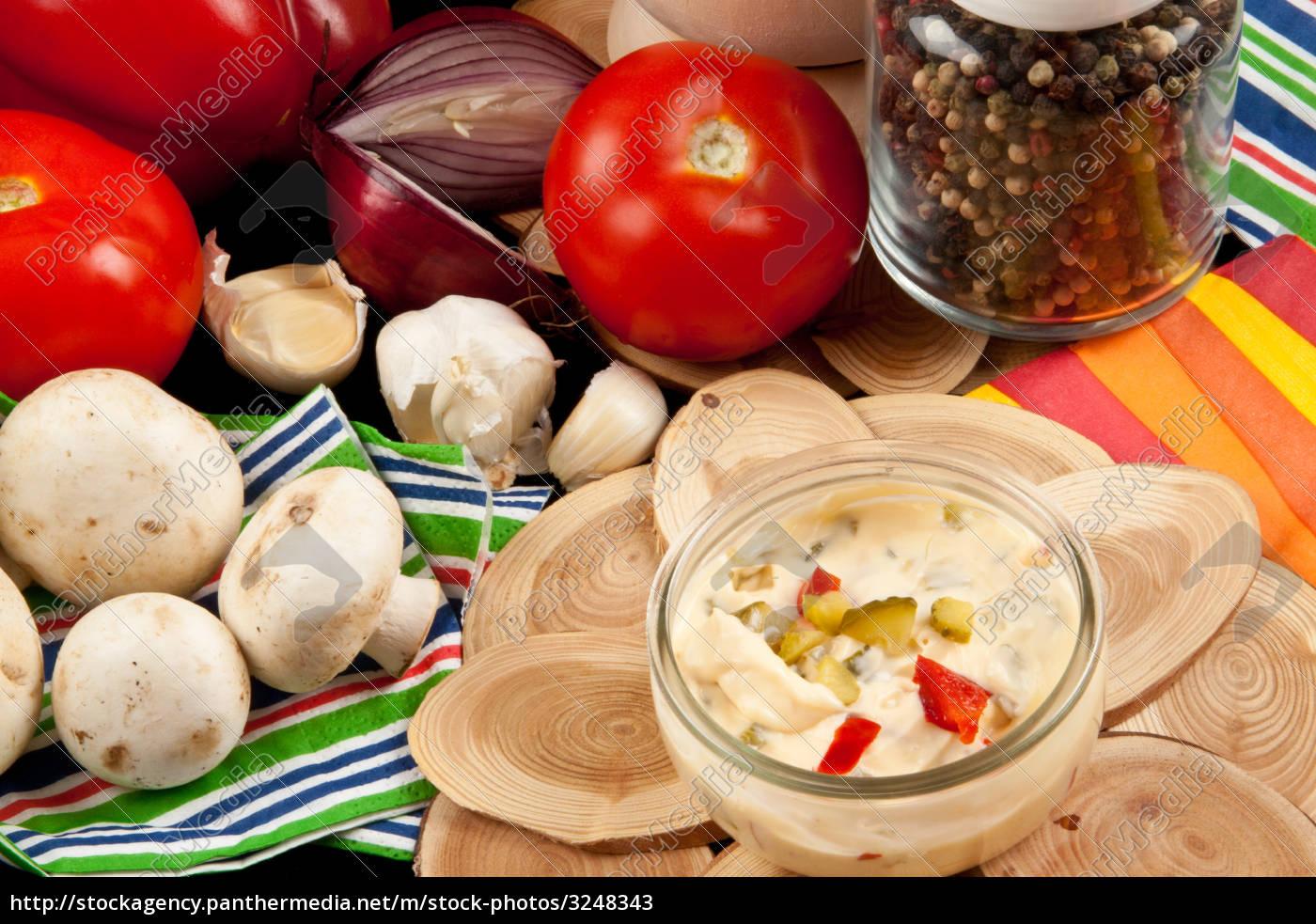 mayonnaise, salad, dressing - 3248343