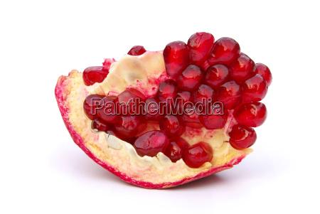 exempted pomegranate pomegranate isolated 09