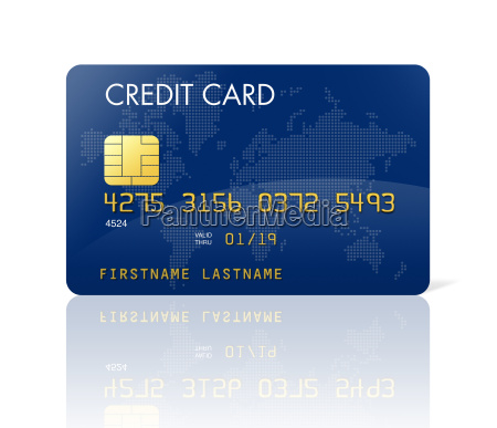 blue, credit, card, with, world, map - 3270601