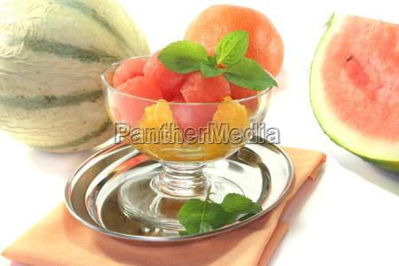 melons orange salad