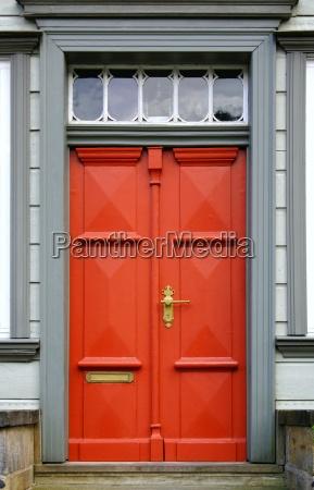 nostalgic entrance door