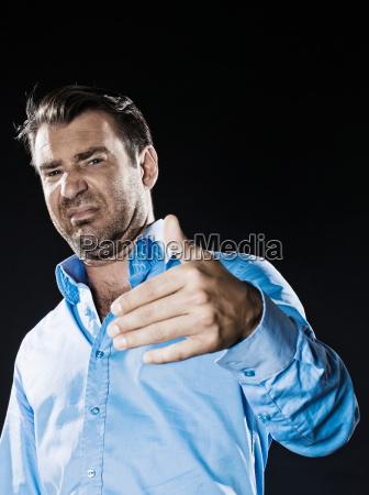 man, portrait, reject, unpleasant, smell - 3281571