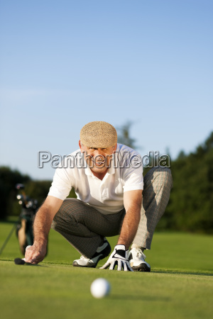 senior, golfers, in, summer - 3285535