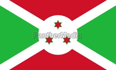 the national flag of burundi