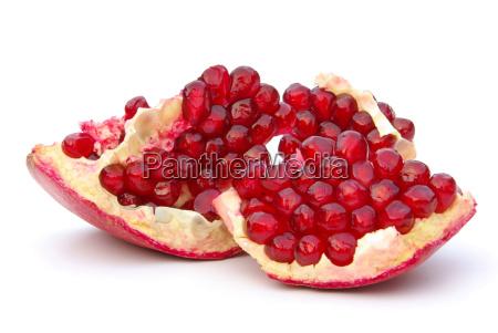 pomegranate free pomegranate isolated 13