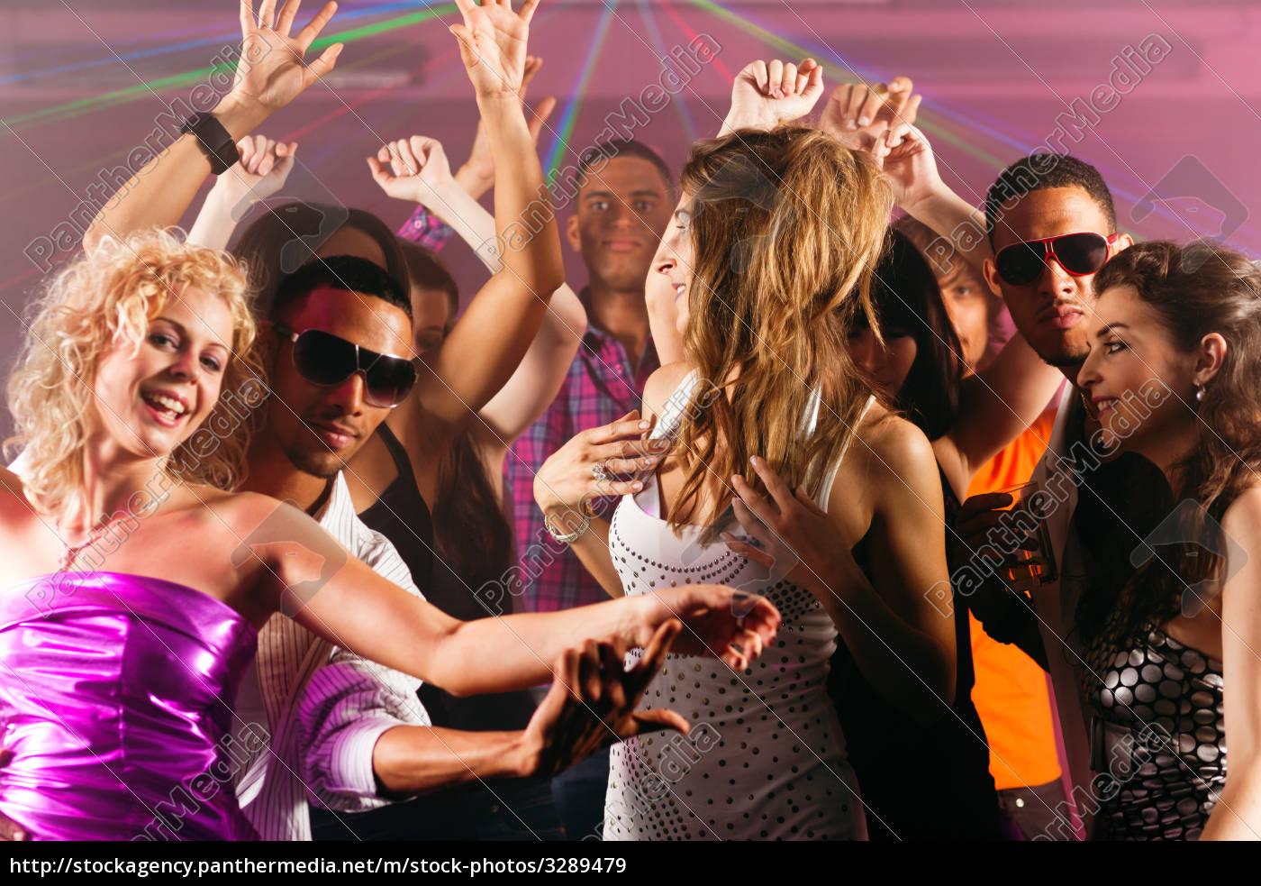 friends, dancing, in, disco, or, club - 3289479