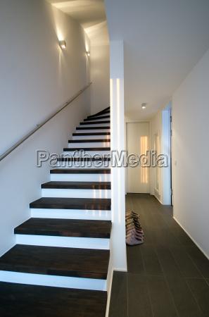modern, apartment, hallway - 3291547