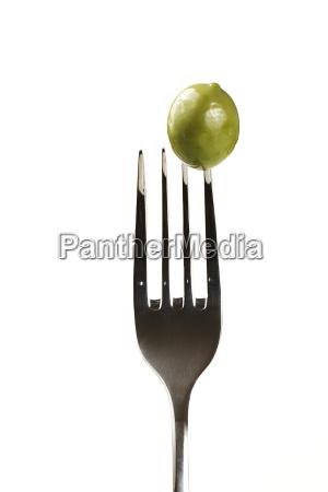 an, olive, on, fork - 3292581
