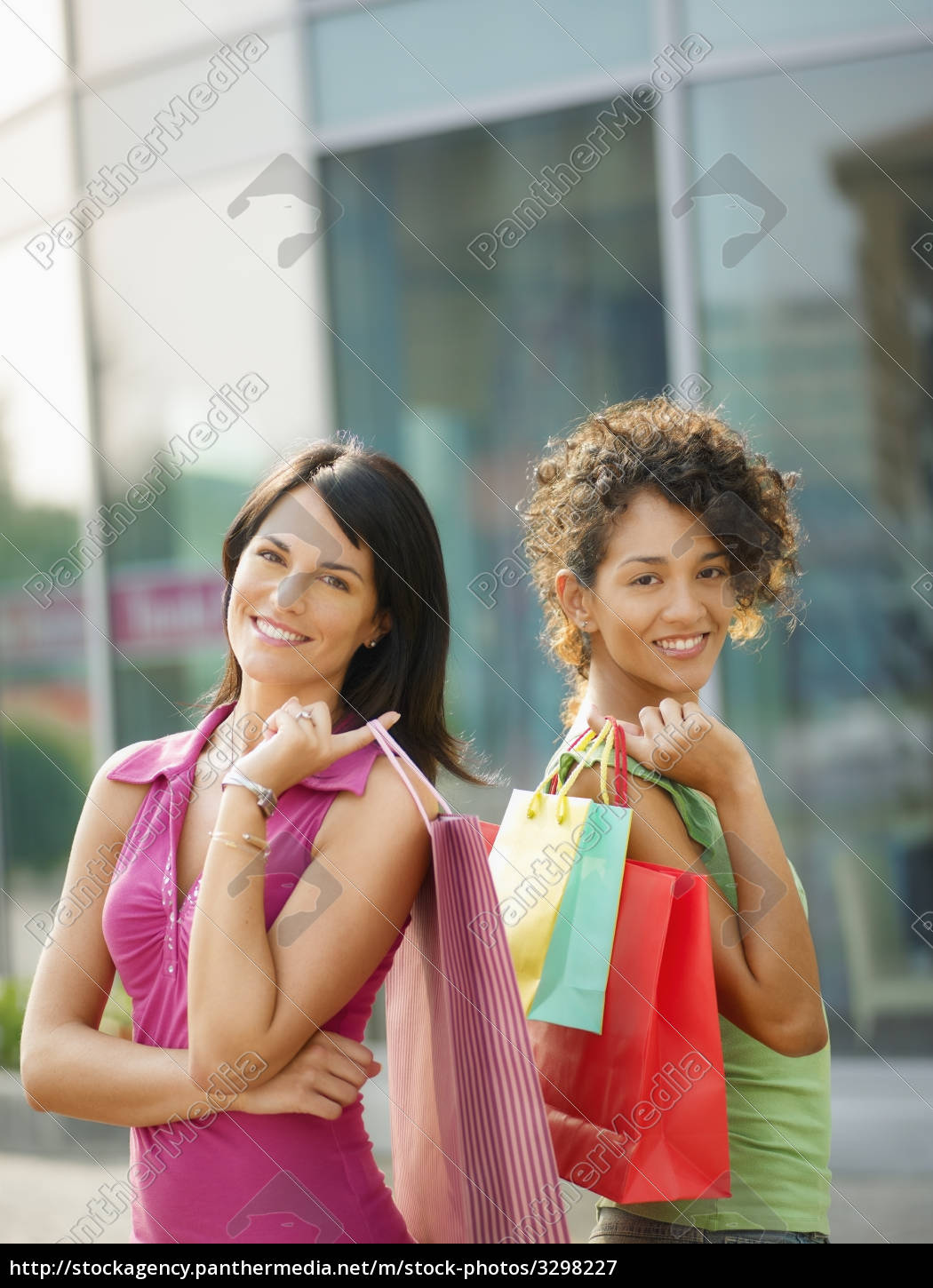 friends, with, shopping, bags - 3298227